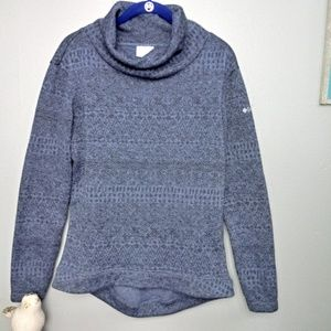 Columbia Cowl Neck Pull Over Sweater Small